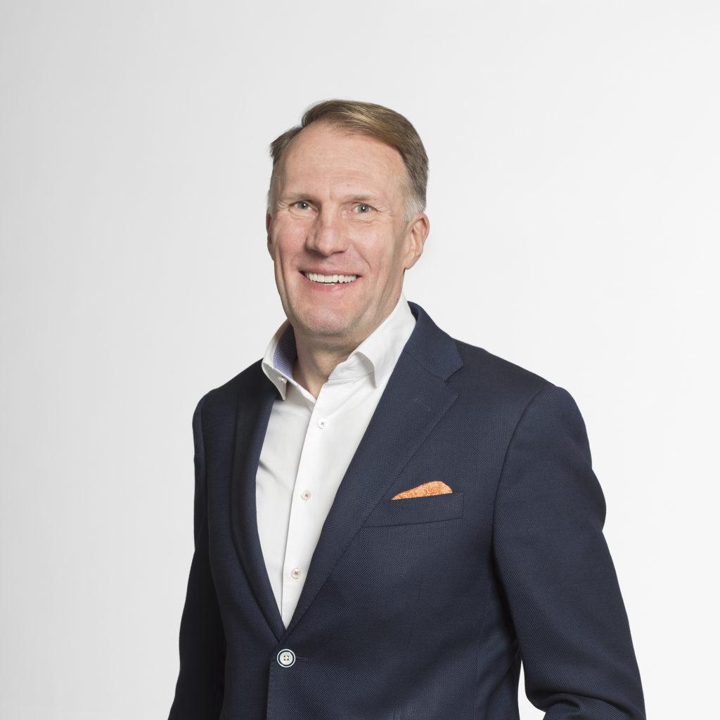 Tapio Pajuharju Toimitusjohtaja Harvia